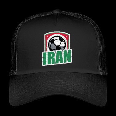 Iran Football Team Team T-Shirt Gift - Trucker Cap
