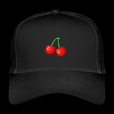 Cherry - Cherries - Cherry - Gift - Trucker Cap