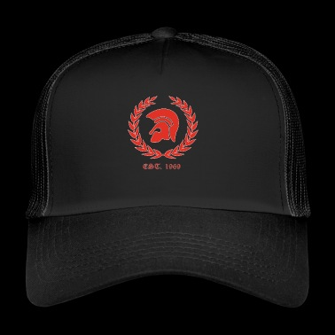 Trojan Skinheads Punk Oi 1969 SKA laurel wreath - Trucker Cap