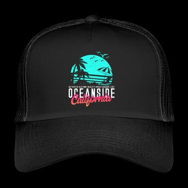Oceanside California Beach - Trucker Cap