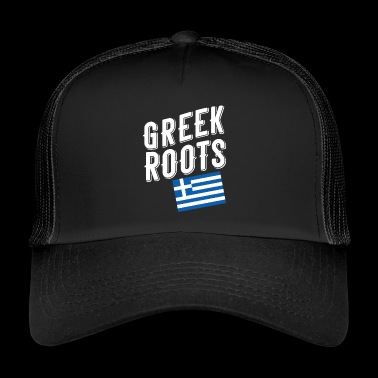 greek roots - Trucker Cap