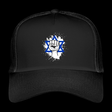 Israel Star of David fist - Trucker Cap
