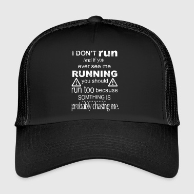 Run T-shirt - Trucker Cap