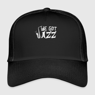 Saxophone Design Jazz - Trucker Cap