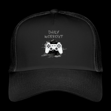 Video Game! Daglig Workout! - Trucker Cap