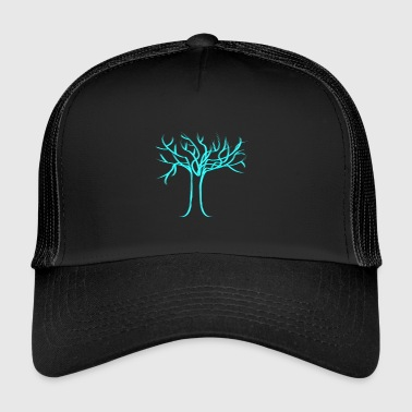 Tree of life, light blue - Trucker Cap