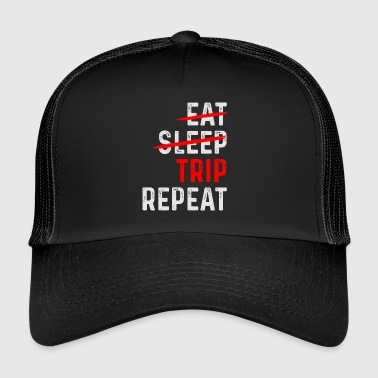 TRIP REPEAT - Trucker Cap