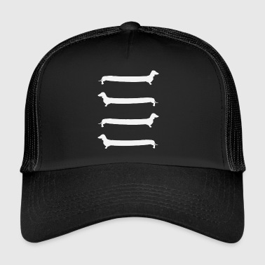Dachshund Ladder - Trucker Cap