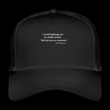 William Shakespeare Funny Quotes - Gorra de camionero