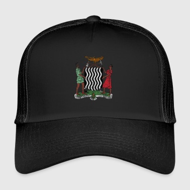 Zambia Coat of Arms Zambia Symbol - Trucker Cap