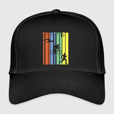 TRIATHLON - Stripes - Trucker Cap