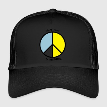 be hippie - Trucker Cap