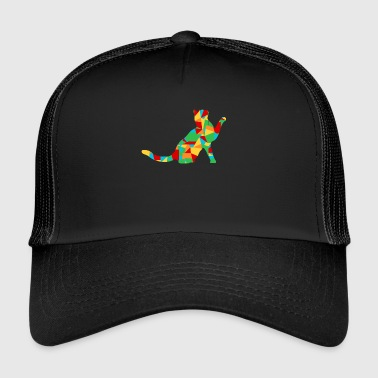 polygon cat - Trucker Cap