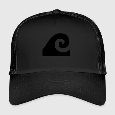 Black Wave - Trucker Cap
