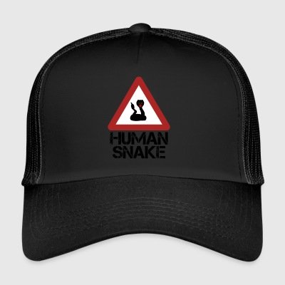 Serpent humain - Trucker Cap