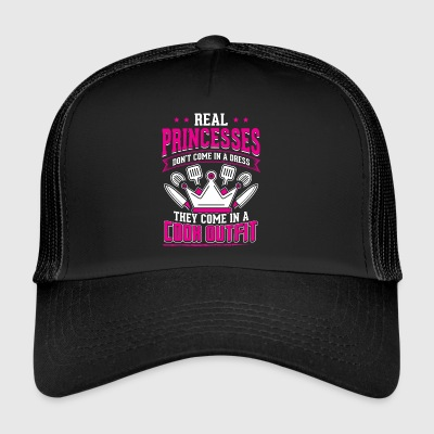 REAL PRINCESSES cook - Trucker Cap