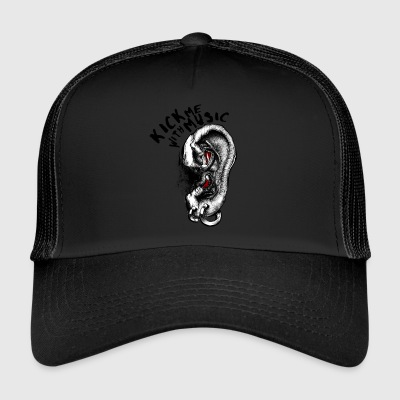 Kick me with Music - Trucker Cap