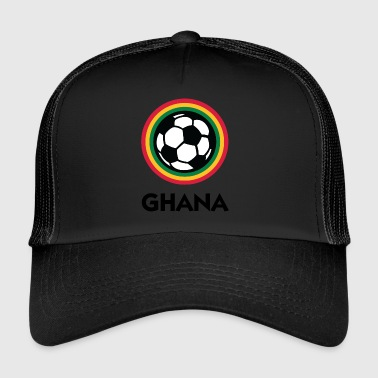 Football Crest Of Ghana - Trucker Cap