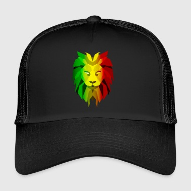 Lion Rasta - Trucker Cap