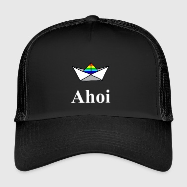 Pride ship - Trucker Cap