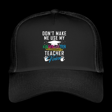 Educator Shirt · Educator · Kindergarten Kids - Trucker Cap