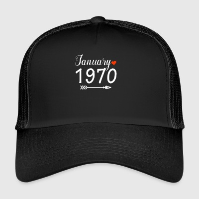 January 1970 - Trucker Cap