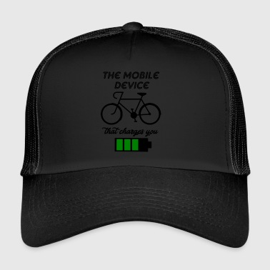 the mobile device - Trucker Cap