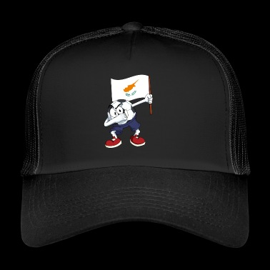 Cyprus Dabbing football - Trucker Cap