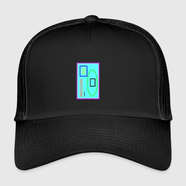 Colorful graphic - Trucker Cap