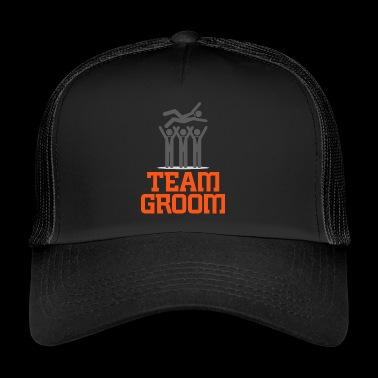 Team Groom! - Trucker Cap