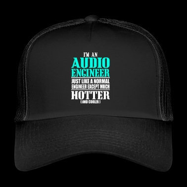 AUDIO ENGINEER - Gorra de camionero