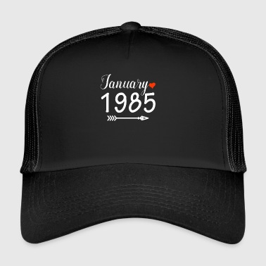 January 1985 - Trucker Cap
