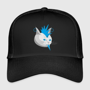 Paul, bleu - Trucker Cap