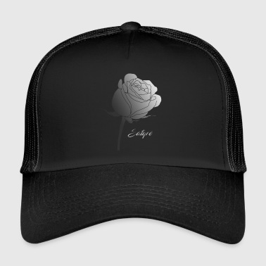 Dégradation florale. - Trucker Cap