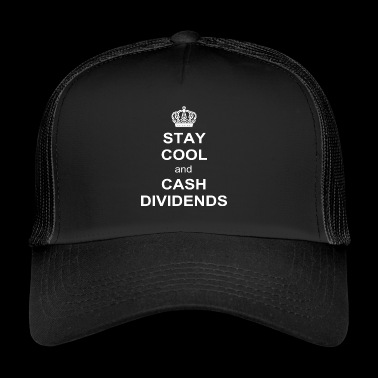 Limited - STAY COOL and CASH DIVIDENDS Gift - Trucker Cap