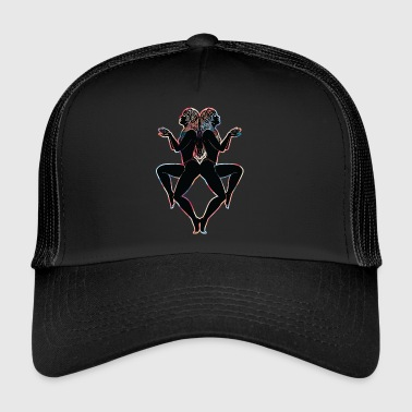 Twins noir - Trucker Cap
