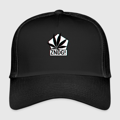 Ignition! ZNDG! feuille de cannabis - Trucker Cap