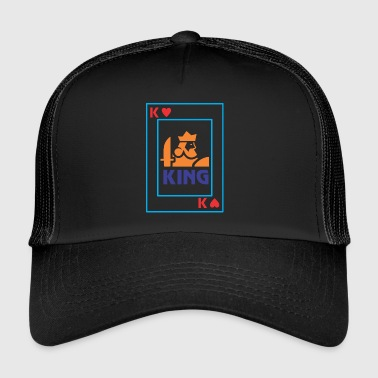 Carta da gioco KING - Trucker Cap