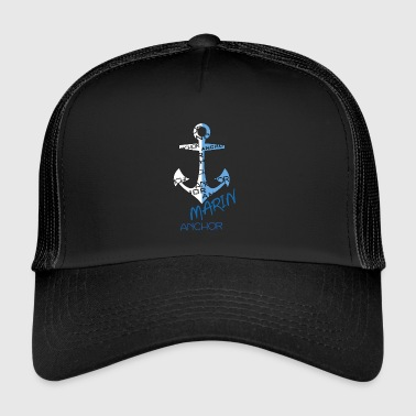 still for ships, nautical style Marin line decoration - Trucker Cap