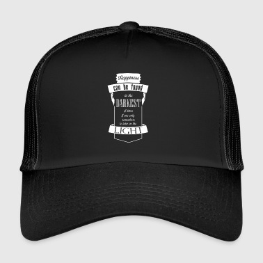 written happiness - Trucker Cap