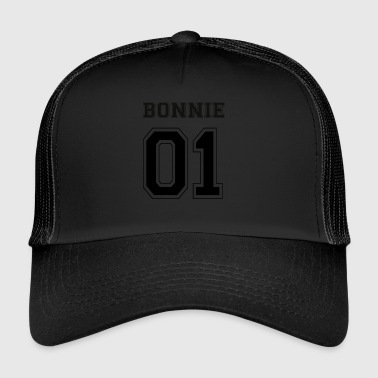 BONNIE 01 - Black Edition - Trucker Cap