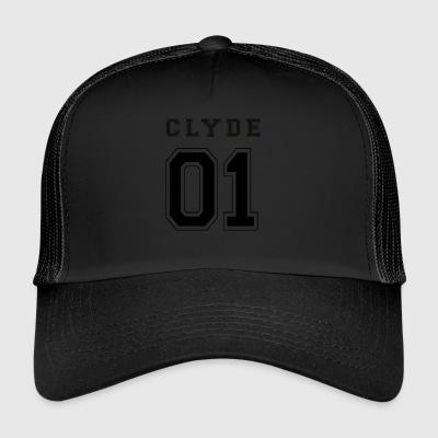 CLYDE 01 - Black Edition - Trucker Cap