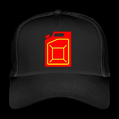 benzin gas tankstelle petrol station oil productio - Trucker Cap