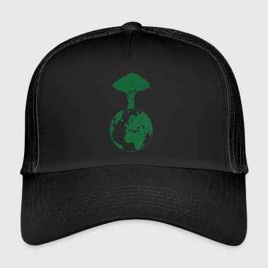 Earth Day / Earth Day: Earth and Tree - Trucker Cap
