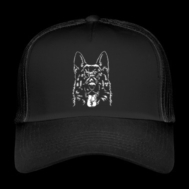 ENGLISH SHEPHERD - GERMAN SHEPHERD - Trucker Cap