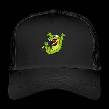 Krokofil alligator - Trucker Cap