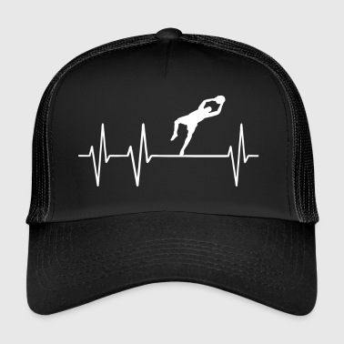 Gardien de but de football Gardien de but Pouls Gardien de but - Trucker Cap
