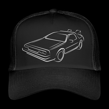 Sketch back to the future - Trucker Cap