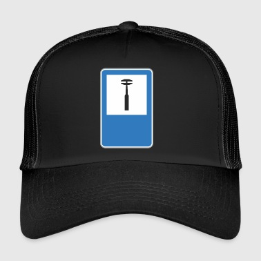 Road auto sign reparatie - Trucker Cap