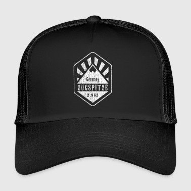 Zugspitze coat of arms - white - Trucker Cap
